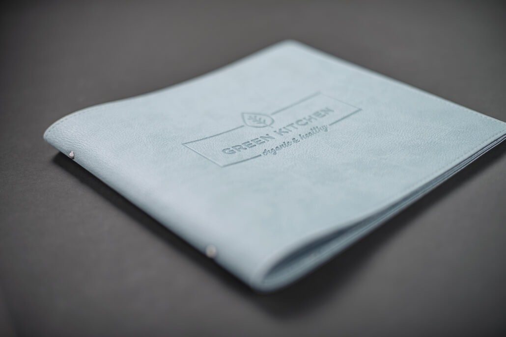 Logoveredelung Prägung