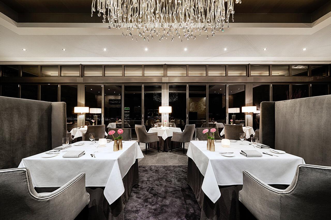 Innenansicht Restaurant Schwarzenstein