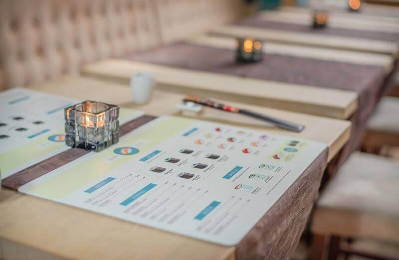 Umweltfreundlich tischsets aus recycled leder for Tischset design