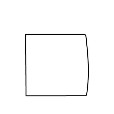 229 x 228 mm (für DIN A4 quadrat)