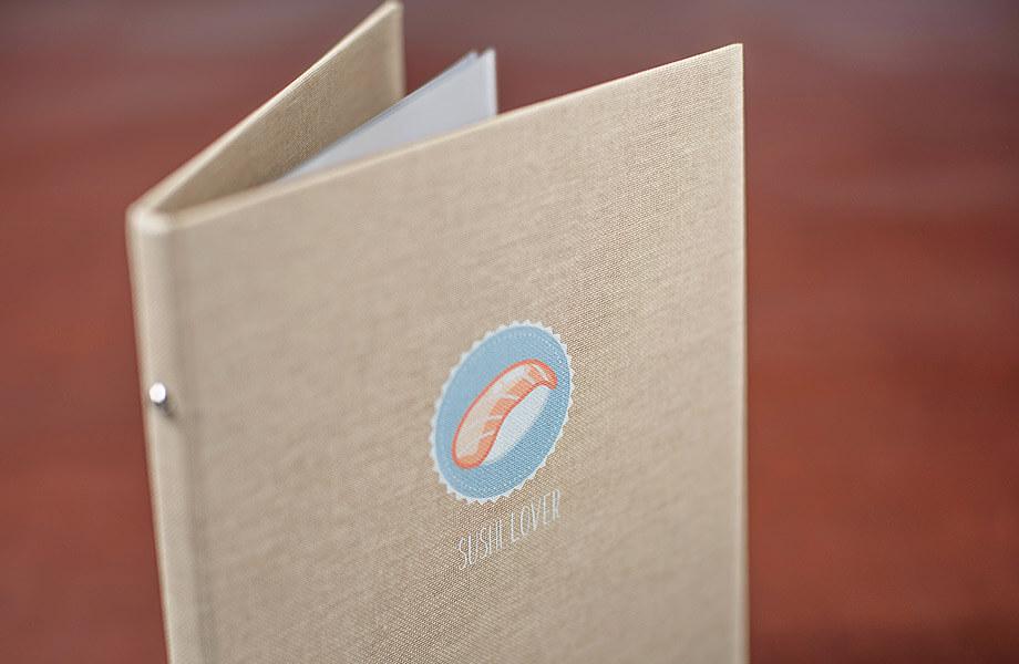 Muster: Speisekarten mit Hardcover