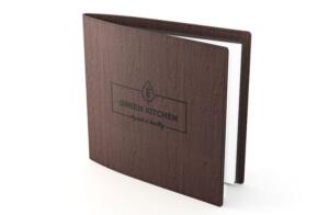 Speisekarten aus Holz - Unsere Colormenu Karten